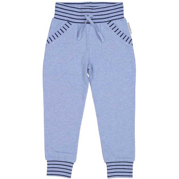 Blue College Sweatpants