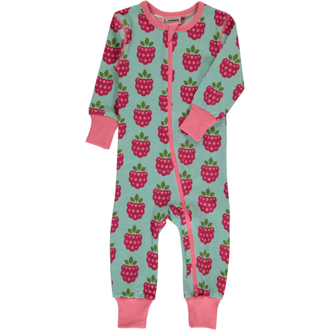 Raspberry Zip Suit