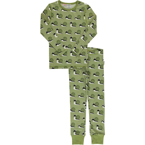 Green Snail Pajamas