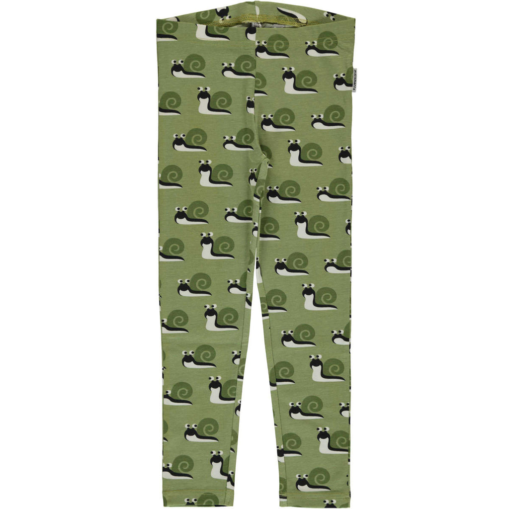 Green Snail Leggings