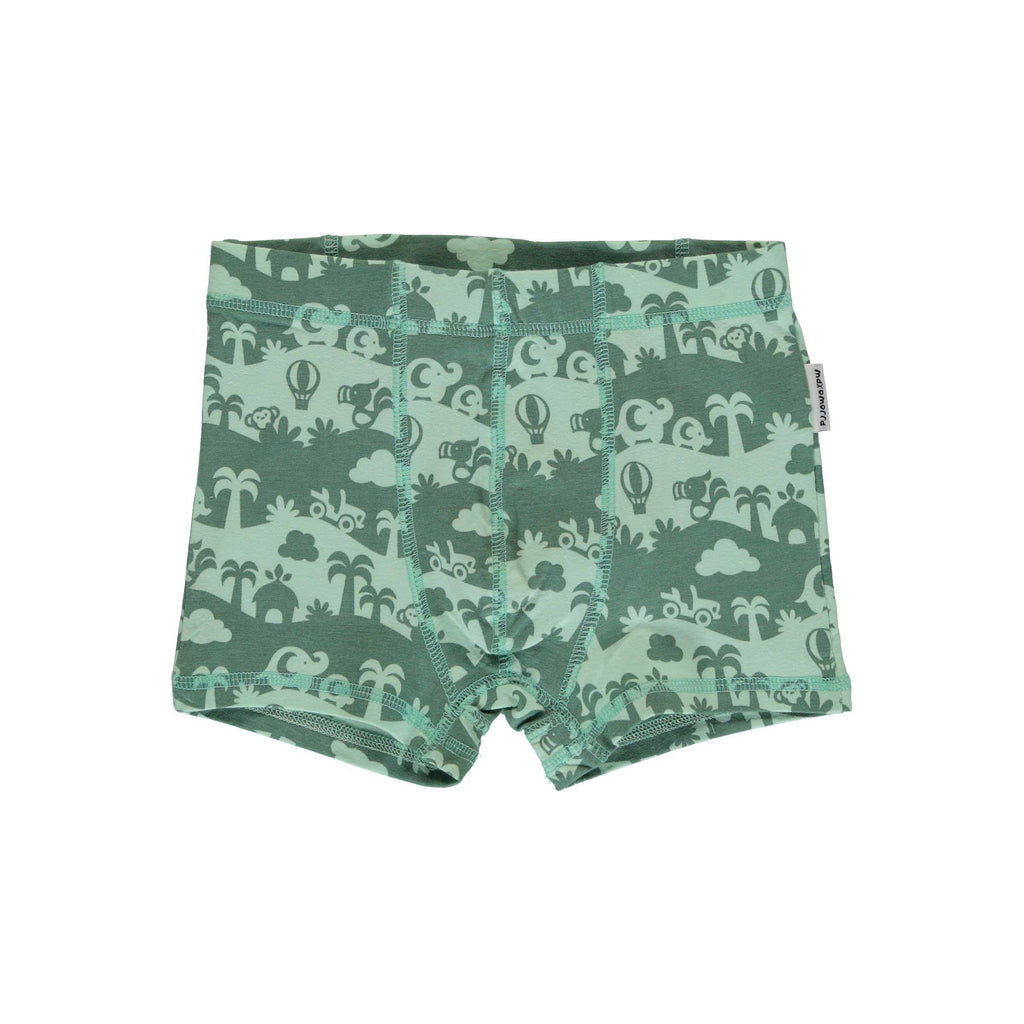 Spring Green Jungle Boxers