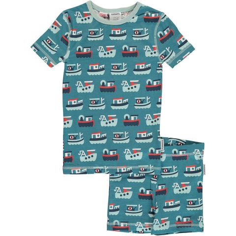 Trawler Short Sleeve Pajamas
