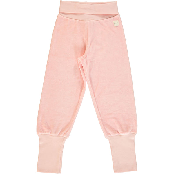Pale Blush Velour Bottoms