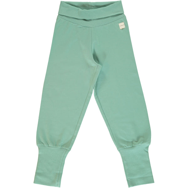 Soft Teal Rib Bottoms