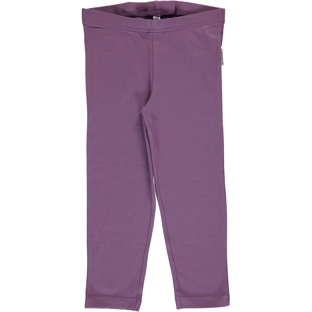 Dusty Purple Cropped Leggings