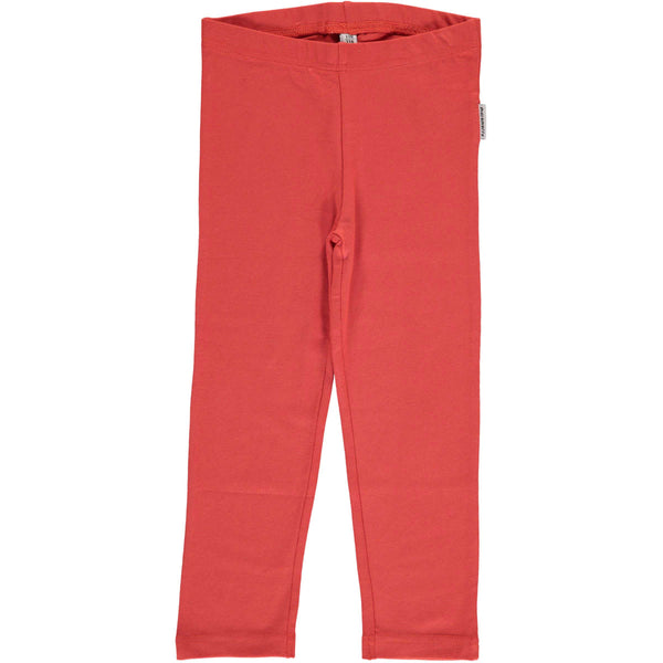 Rusty Red Cropped Leggings