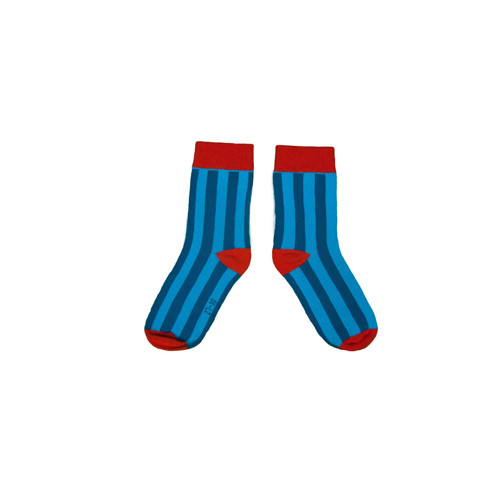 Blue Stripey Socks