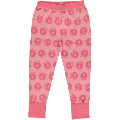 Pink Merino Wool Pants