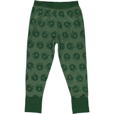 Hunter Green Merino Wool Pants