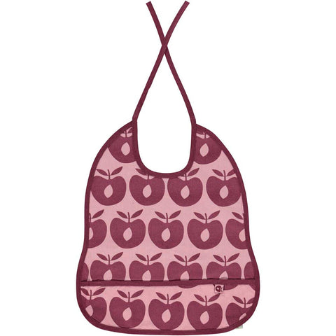 Pink Apple Bib