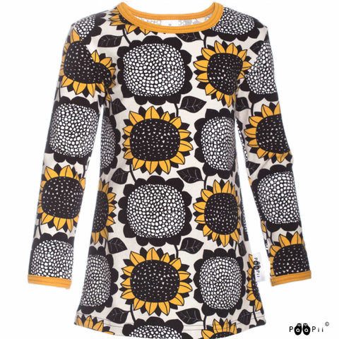 Vieno Yellow Sunflower Tunic