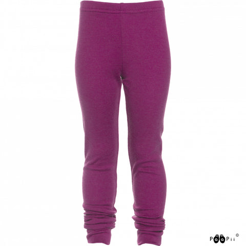Purple Loisto Merino Pants