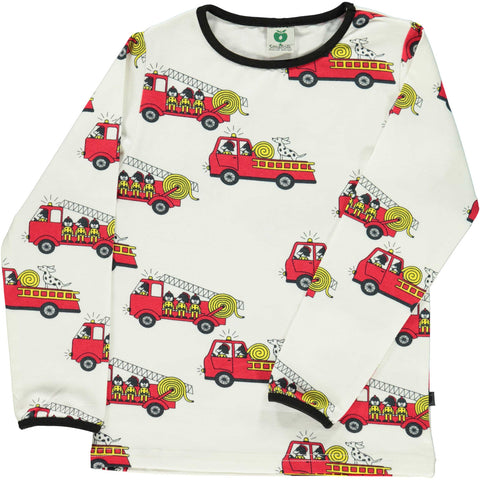 Fire Truck Long Sleeve Shirt