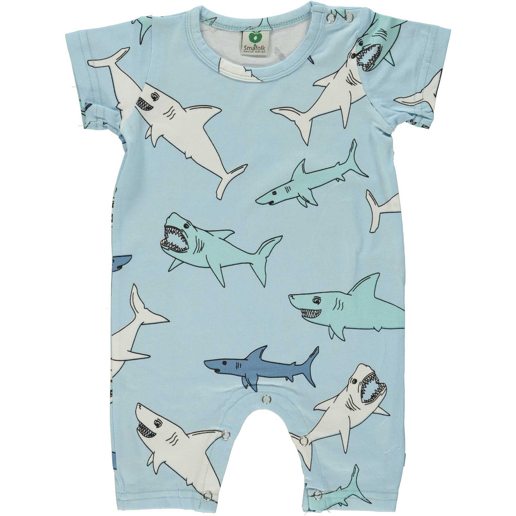 Summer Shark Romper