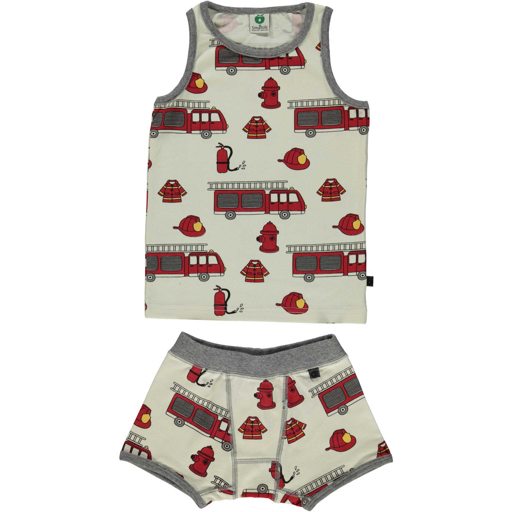 Fire Truck Boxers & Tank