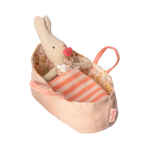 My Rabbit in Rose Carrycot