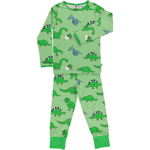 Green Dino Pajamas