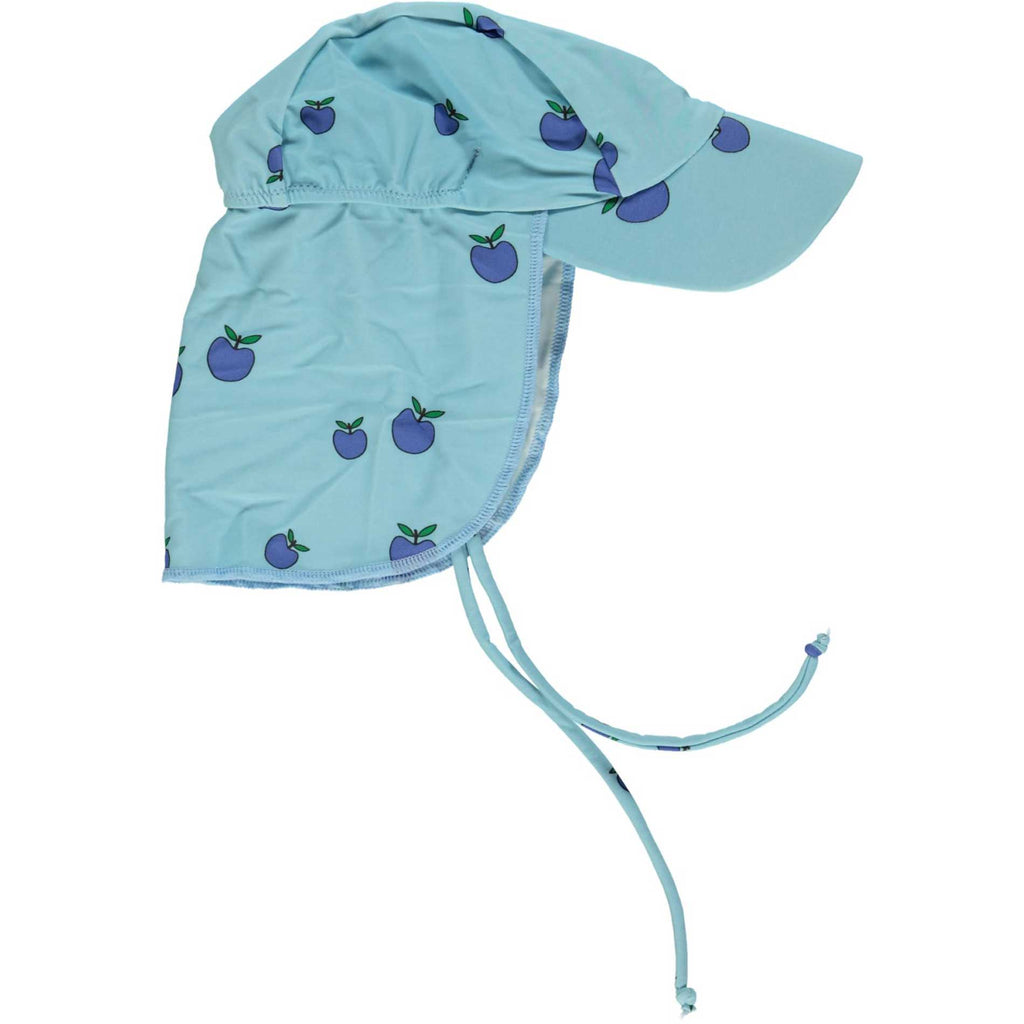UV50 Blue Mini Apples Swim Hat