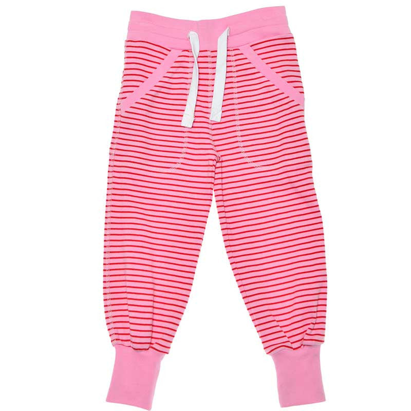 Pink and Red Sweatpants