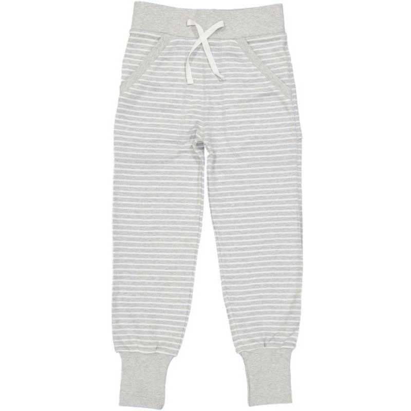 Grey Stripe Sweatpants