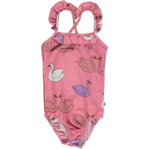 UV50 Pink Swan Swimsuit