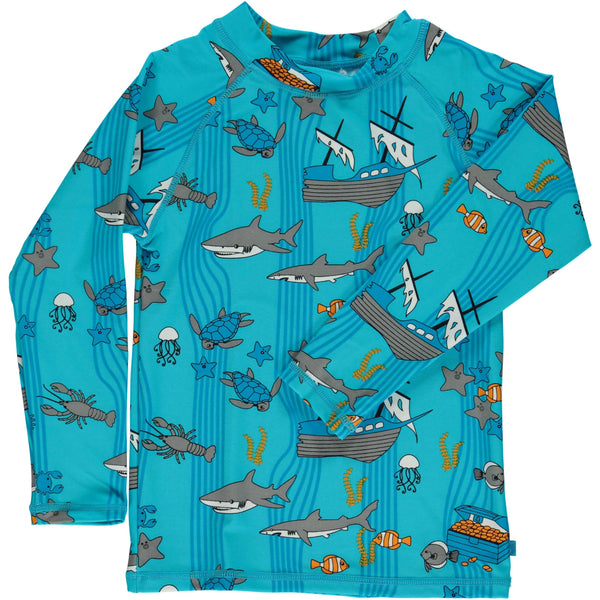 UV50 Long Sleeve Sea World Rash Guard