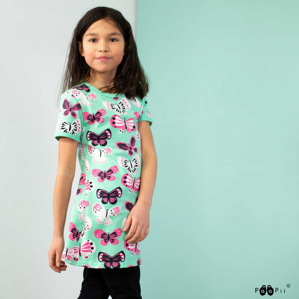 Siro Butterflies Tunic - Big Kids!