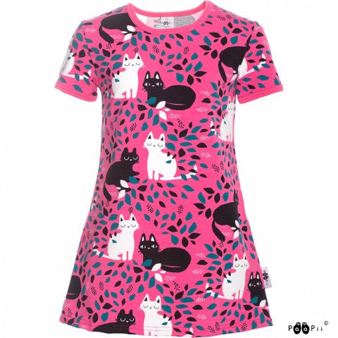 Siro Pink Cats Tunic
