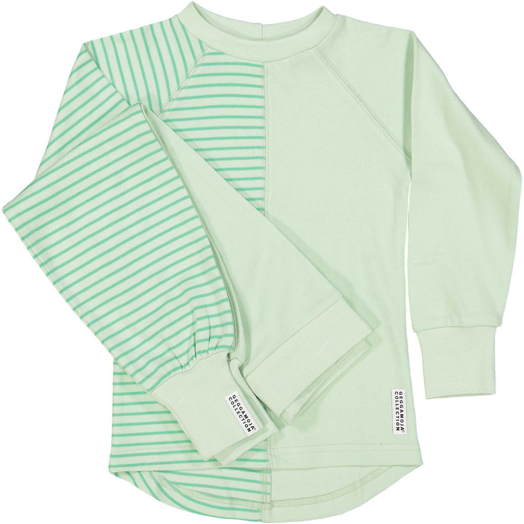 2 Piece Soft Green Pajamas
