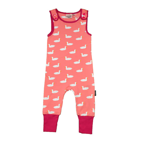 Pink Duck Playsuit