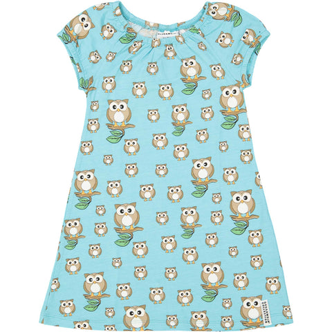 Owl Bamboo Summer Dress