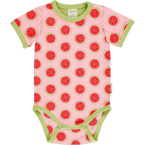 Watermelon Short Sleeve Onesie