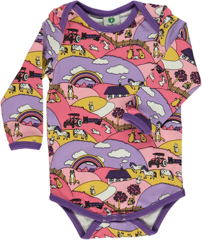 Pink Countryside Onesie