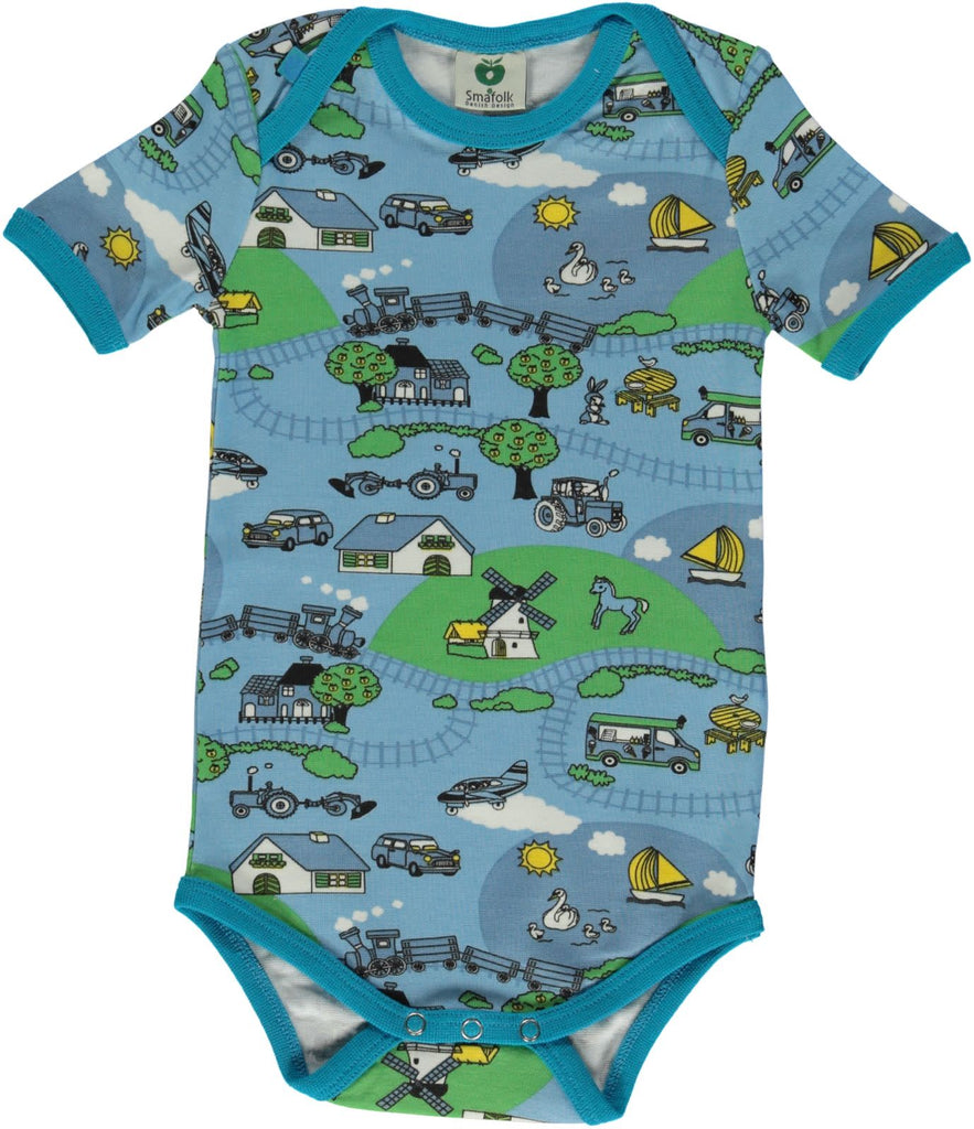 Blue Farming Onesie