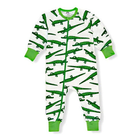 Crocodile Zip Romper
