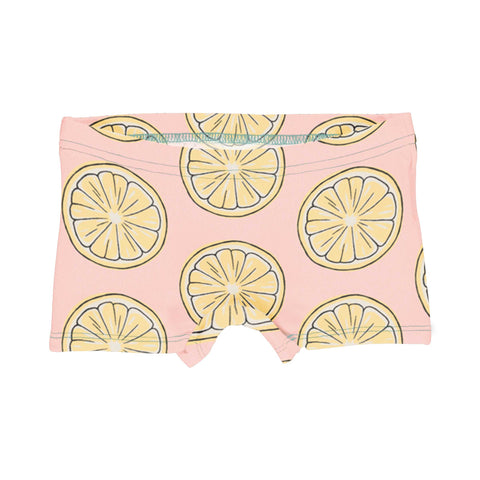 Girls Lemon Boxer Briefs
