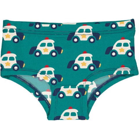 Teal Police Hipster Briefs