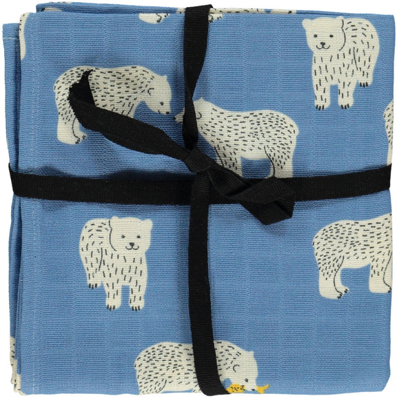Polar Bear Burp Cloth