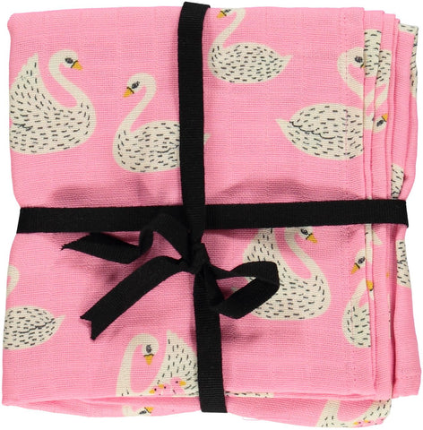 Swan Burp Cloth