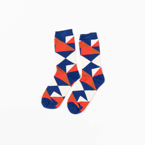 Solidate Triangle Socks