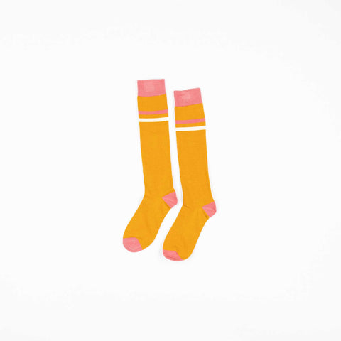 Annie Gold Knee Socks