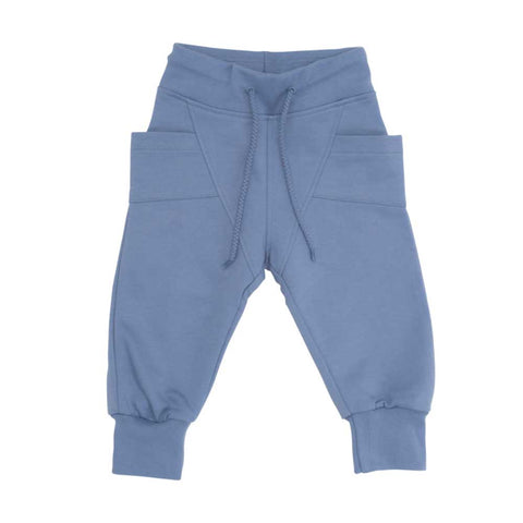 Smokey Blue Baggy Pants