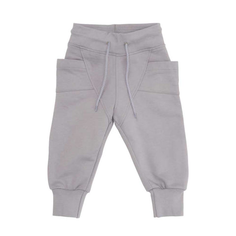 Grey Baggy Pants