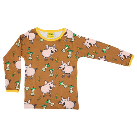 Autumn Pig Shirt