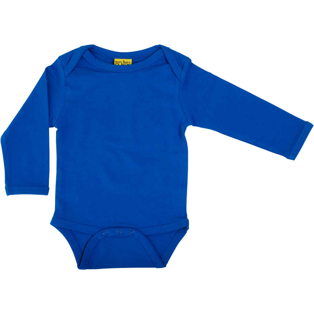 Cobalt Blue Long Sleeve Onesie