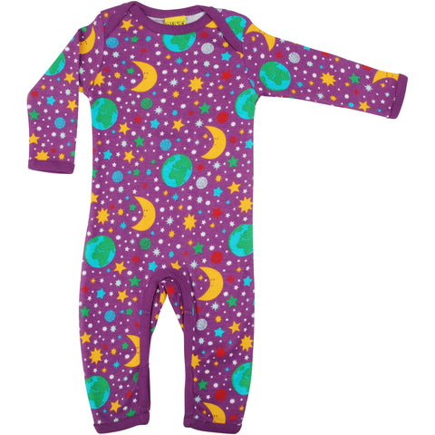 Violet Mother Earth Romper
