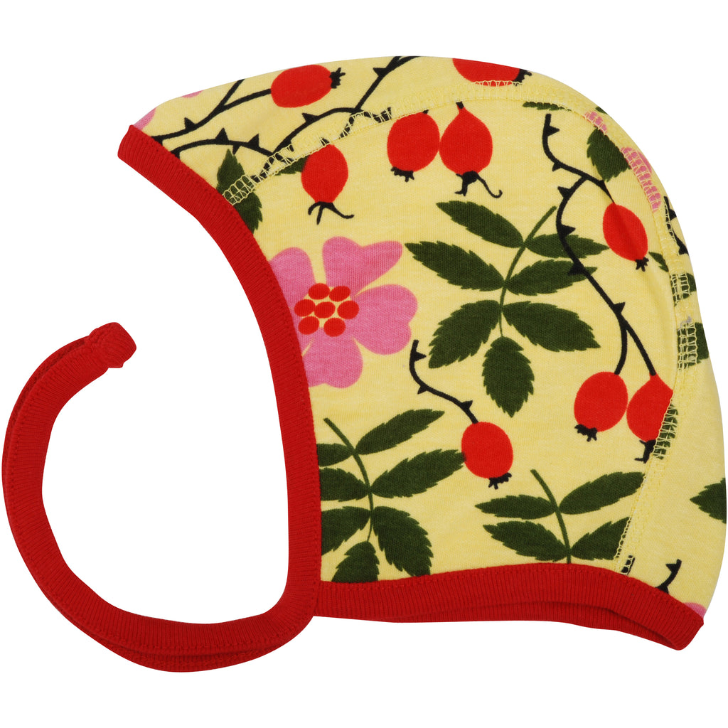 Rosehip Yellow Baby Bonnet