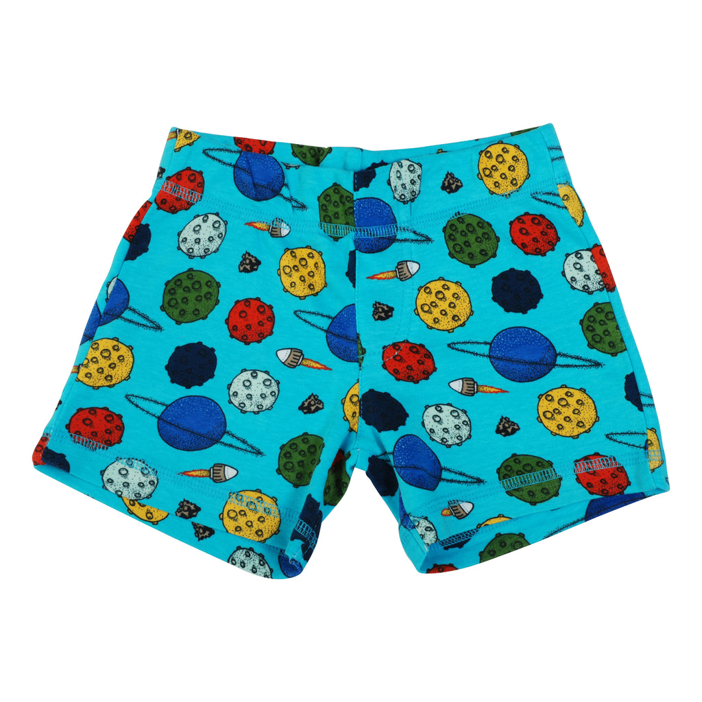 Blue Atoll Planet Shorts