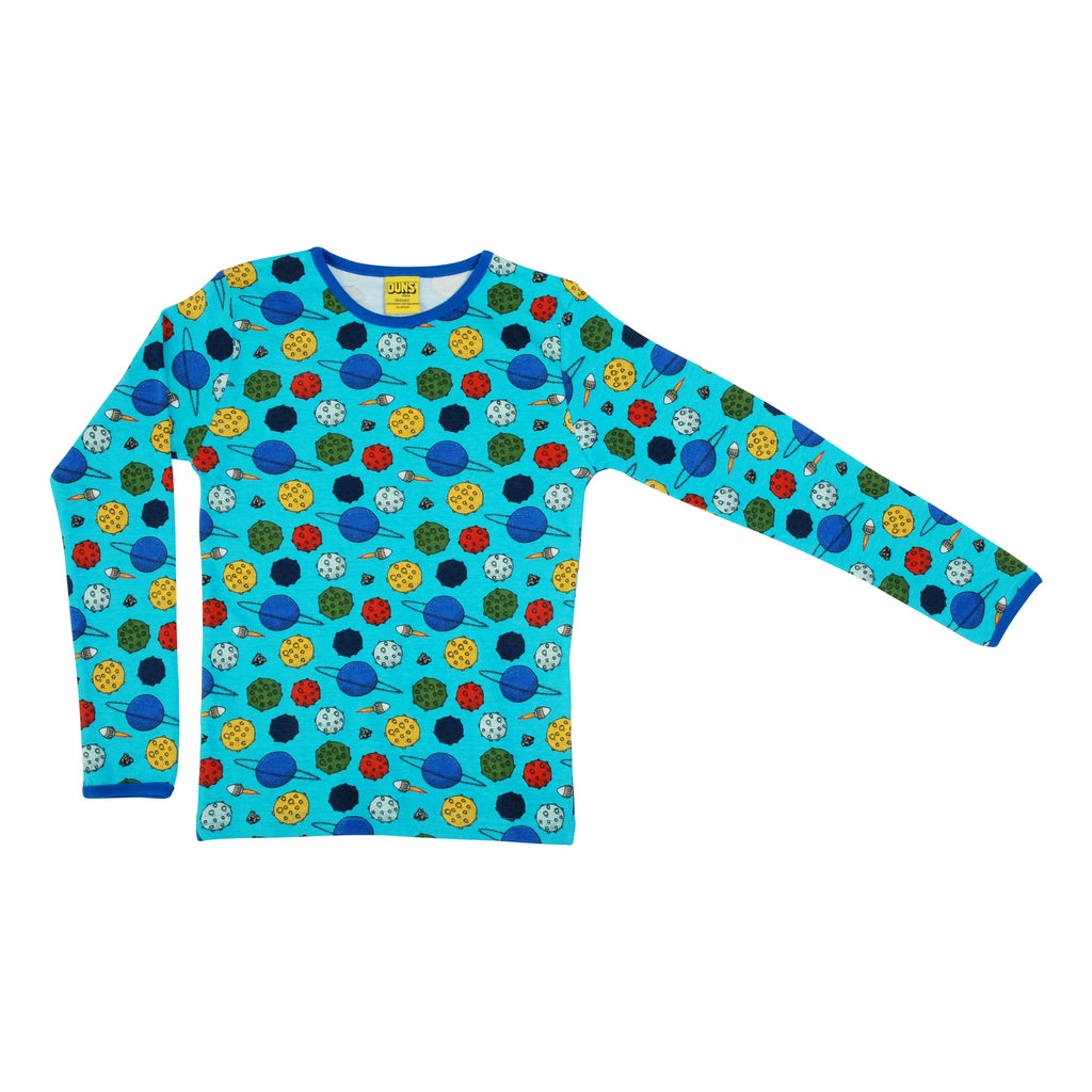 Blue Atoll Outer Space Shirt