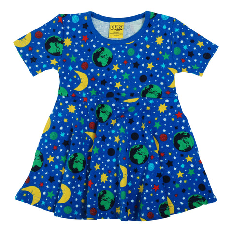 Skater Dress Blue Mother Earth